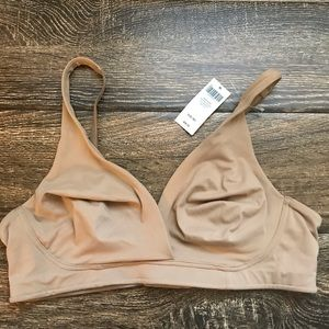 Soma Soft Tan Embraceable Wirefree Unlined Bra